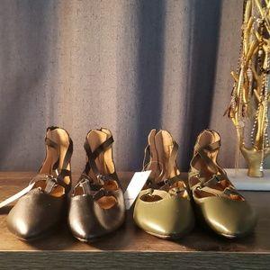 Pointed Toe Ballerina Flats